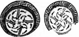Фото: Свастика на глиняном сосуде (4000 г. до н.э.)